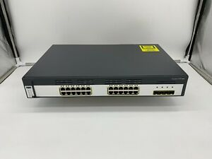 CISCO WS-C3750G-24TS-S 3750G-24TS Catalyst 24 Port Gigabit Switch