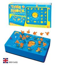 THE TIME SHOCK GAME Wind Up BEAT THE CLOCK Timer Shapes Toy Birthday Gift Box UK