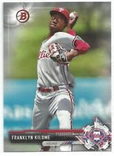 Franklyn Kilome Philadelphia Phillies 2017 Bowman Draft Baseball