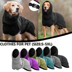 Pet Clothing Dog Towelling Drying Robe Puppy Warm Buckle Hoody Apparel Bathrobe`