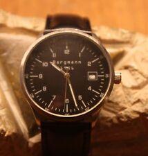 Bergmann Armbanduhr 1956* rund * Edelstahlgehäuse * 3ATM * Neu und ungetragen*