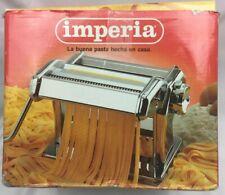 IMPERIA Pasta Maker Machine 150 Heavy Duty Steel Construction ITALY FETTUCCINE