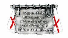 Scotland Boucle de ceinture BRAVEHEART Tartan Army Chardon Écossais Drapeau Patriotique