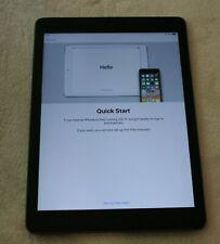 "Apple iPad Air Model A1474 16GB 9.7"" Space Gray"