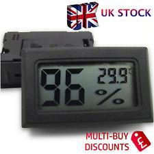 Digital LCD Thermometer Sensor Hygrometer Temperature Humidity Meter Gauge Home