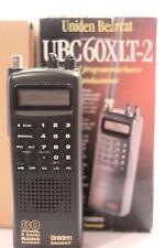 Uniden Bearcat Radio Scanner 80 canaux 8 Band UBC60XLT-2