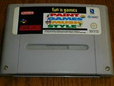 Fun Games Paint Music Style für Super Nintendo SNES