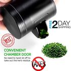 Grinder Herb Tobacco Heavy Duty Weed1 Catcher Aluminum Scrapper Access Window