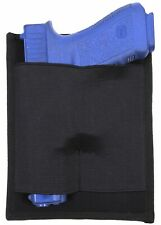 Black Pistol Holster Panel Tactical Concealed Carry CCW Rothco 10859