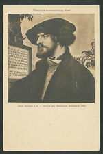 Oeffentliche Kunstsammlung Basel Hans Holbein   Bildnis des Bonifacius Amerbach