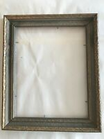 """ANTIQUE CARVED WOOD GOLD GILT PICTURE FRAME - NO GLASS - APPROX. 10"""" X 12"""""""