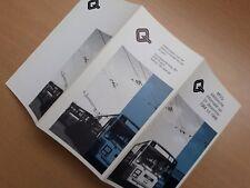 MIVG tram bus trolleybus Gent - statistieken op 31 december 1984 tot 1988