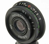 Industar-50-2 50mm für 3,5 UDSSR-Objektiv M42-Pfannkuchen dSLR Pentax Canon...