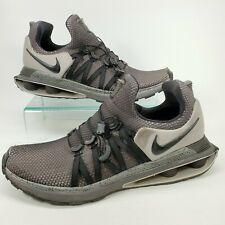 Nike Shox Gravity Atmosphere Running Shoes Flywire Black Grey AR1999-011 Size 12