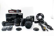 Pentax K-5 IIs 16.3MP DSLR w/ Double lens kit & Battery grip [Exc+++] From Japam
