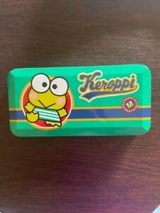 NEW SANRIO Keroppi Pencil Case Holder Vintage Rare