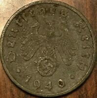 1940 GERMANY THIRD REICH 1 PFENNIG