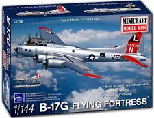 Minicraft B-17G Flying Fortress 1/144 Plastic Model Plane Kit 14726
