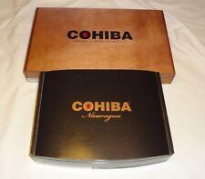 COHIBA  Wooden Cigar Boxes Empty Lot of 2