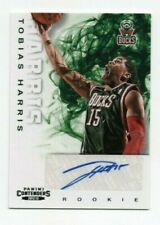 Tobias Harris 2011-12 Panini Contenders RC Rookie Auto Autograph, # 259 76ers