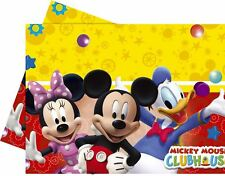 Disney Mickey mouse clubhouse Plastic table cover (120 x 180cm)