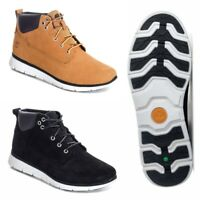 Boys Timberland Junior Killington Chukka Boots balck wheat sand