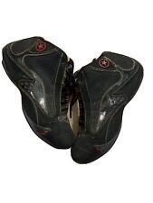 Converse Men's Sz 9 Dwayne Wade Red Black Mid Basketball Shoes A3602
