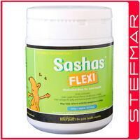 SASHAS BLEND Flexi Chews 200g 160 Chews (Sasha's) - Joint Arthritis Pain Relief