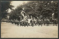 Postcard Leicester the Historical Pageant on Coronation Day 1911 RP by TESL