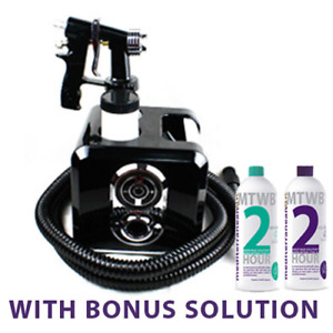SPRAY TAN MACHINE - MediterraneanTan® Swift Zero LED with 2x125ml BONUS SOLUTION