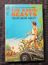 1964 THE RADIO BEASTS by Ralph Milne Farley 1st Ace F-304 Paperback VF-