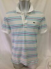 Lacoste Polo Shirt Fitted 100 Genuine Size 4/medium