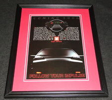 1983 Isuzu Impulse Framed 11x14 ORIGINAL Advertisement
