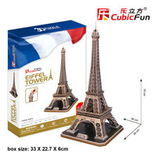 Eiffel Tower - CubicFun 3D puzzle MC091h 82 pcs