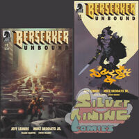 BERSERKER UNBOUND #1 Set of Two COVER A + B VARIANT MIGNOLA DEODATO LEMIRE