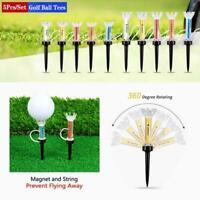 5 Stk. Golf Tee Professionelle Flexible Magnetische Golf Werkzeuge Golfer N1K1