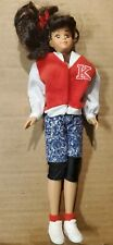 """Remco Babysitters Club Kristy Doll 1992 10.5"""" tall Outfit Christy Kristy"""