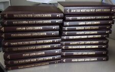 Louis L'Amour Hardcover Leatherette Collection Bantam 1981 Pick One from Lot VGC