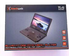"Blackweb 11.4"" High Res HD Display Portable Blu-ray Disc/DVD Media Player NEW"