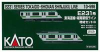 Kato 10-596 JR Series E231 Tokaido Shonan-Shinjuku Line 2 Cars Add-on (N scale)