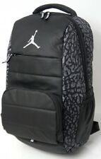df06e793a1da Nike Air Jordan All World Black Gray Silver Laptop Backpack 9A1640 485 MSRP   65