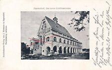 Nr.13728 PK Jägerndorf Krnov neues Schützenhaus  1910  Böhmen Tschechien