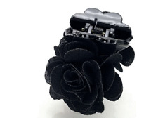 ConMiGo Lodon 5110A01 Black fabric Jaw hair clip