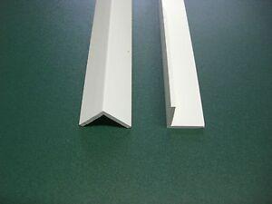 PVC – Winkelprofil Kunststoffwinkel 2 m lang – 100 x 100 x 2,5 mm