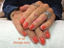 Vernis Semi Permanent n°18 Orange Juice 7ml NAILITY UV/LED/CCFL GEL POLISH USA