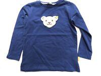 19/20 -STEIFF blue winter Langarmshirt mit Quietsch, blau 1101  gr.98-116
