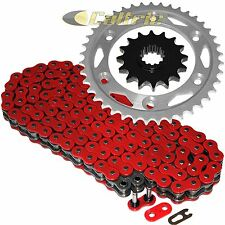 Red O-Ring Drive Chain & Sprockets Kit Fits HONDA CBR1000RR 2004 2005