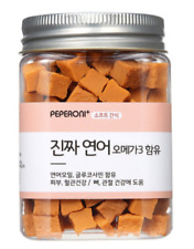 Dog Food Peperoni Real Salmon Omega3 Premium Korea handmade food