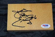 Julius Erving signed Spectrum floor autographed floor PSA AA91039