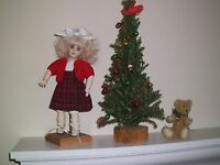 NO DOLL BEAUTIFUL 100% VIRGIN WOOL RED SWEATER  FOR BLEUETTE DOLL  11""
